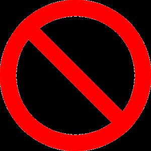 תמרור איסור